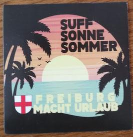 Freiburg macht Urlaub Aufkleber