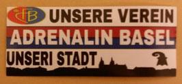 150 Basel Adrenalin Aufkleber