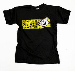 Dortmund Gelsenkirchen Schweine Shirt Schwarz