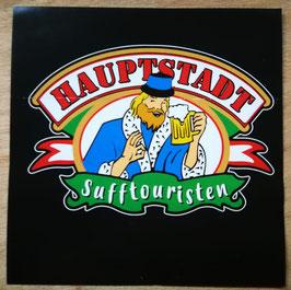 Berlin Hauptstadt Sufftouristen Aufkleber