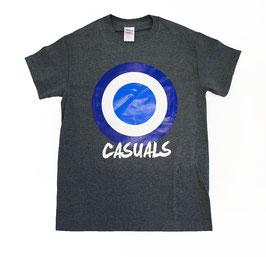 Casuals Blauer Kreis Shirt