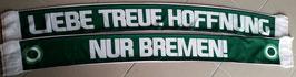 Bremen Liebe Treue Hoffnung Seidenschal