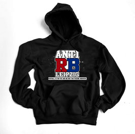 Anti RB Hoodie Football is for you and me Schwarz