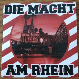 Köln die Macht am Rhein Aufkleber