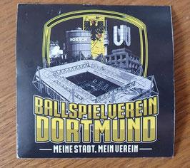 Dortmund Ballspielverein Meine Stadt Mein Verein Aufkleber