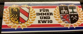 150 Gelsenkirchen Nürnberg für immer und ewig Aufkleber