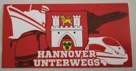 Hannover unterwegs Aufkleber