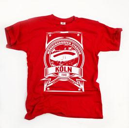 Köln Stadion Shirt Rot