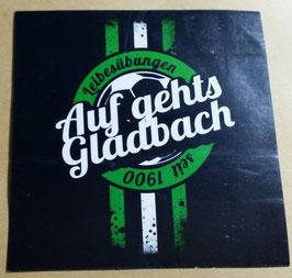 150 Gladbach auf gehts Aufkleber