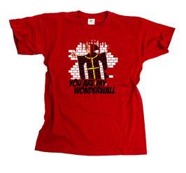 München Wonderwall Shirt Rot