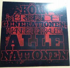 150 Köln Generationen Aufkleber