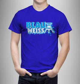 Gelsenkirchen Blau Weiss Ewigkeit Shirt Blau