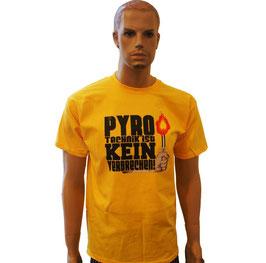 Pyro Shirt Gelb 1