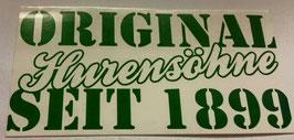 150 Original Hurensöhne seit 1899 Anti Bremen Aufkleber Riesig