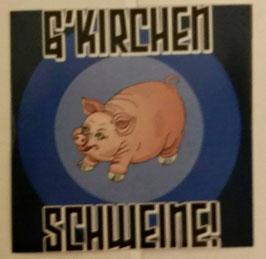150 Gelsenkirchen Schweine Aufkleber
