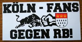 150 Köln Fans Gegen RB Aufkleber