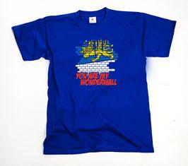 Rostock Wonderwall Shirt Blau