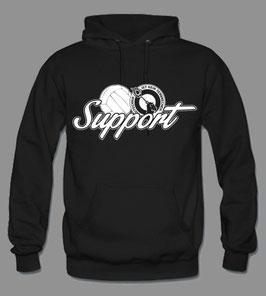 Support Pyro Hoodie Schwarz
