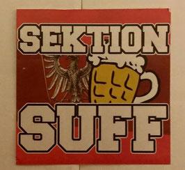 150 Frankfurt Sektion Suff Aufkleber