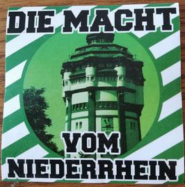 Gladbach Die Macht vom Niederrhein Aufkleber