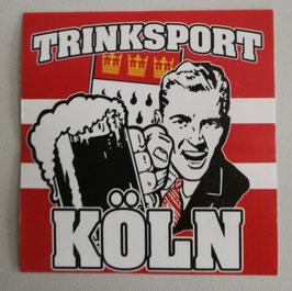 Köln Trinksport Aufkleber