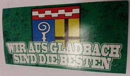 150 wir aus Gladbach sind die Besten Aufkleber
