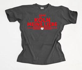 Köln Meine Liebe untereinander Dunkel Shirt