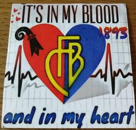 Basel it is in my Blood Aufkleber