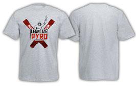 Legalize Pyro Shirt Grau