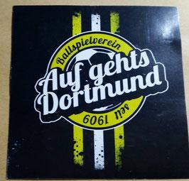 150 Dortmund auf gehts Aufkleber