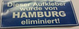 150 Hamburg eliminiert Aufkleber