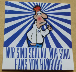 150 Anti Hamburg Schlau Fans Aufkleber
