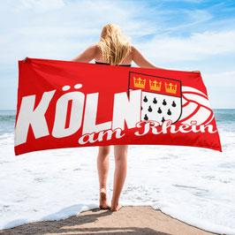 Köln Strandtuch Köln am Rhein