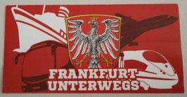 Frankfurt unterwegs Aufkleber