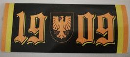 Dortmund 1909 Zahlen Schlicht Aufkleber