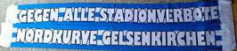 Gelsenkirchen gegen alle Stadionverbote Seidenschal