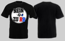 Nein zu RB Shirt Schwarz