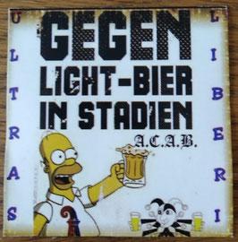 Basel Gegen Light Bier im Stadion Aufkleber