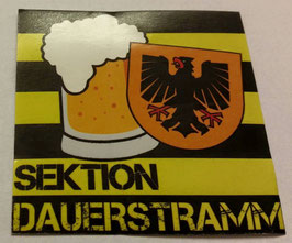 150 Dortmund Sektion Dauerstramm Aufkleber