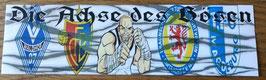 Basel Die Achse des Bösen Wappen mit Fighter Aufkleber