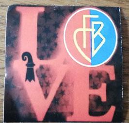 Basel Love Wappen Aufkleber