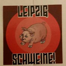 150 Leipzig Schweine Aufkleber