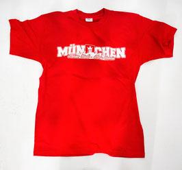München meine Stadt mein Verein Shirt Rot