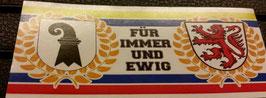 150 Braunschweig Basel für immer und ewig Aufkleber