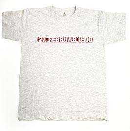 München Datum Shirt Grau