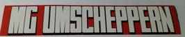 150 MG umscheppern Anti Gladbach Aufkleber