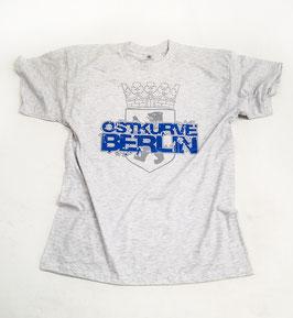 Berlin Ostkurve Shirt Grau