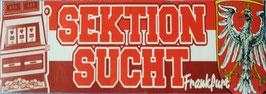 Frankfurt Sektion Sucht Aufkleber