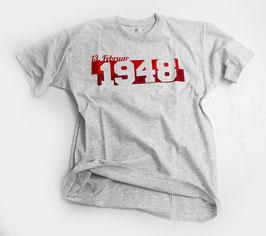 Köln 1948 Streifen Shirt Grau