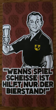 Stuttgart Bierstand Aufkleber